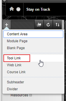 Click on Tool Link