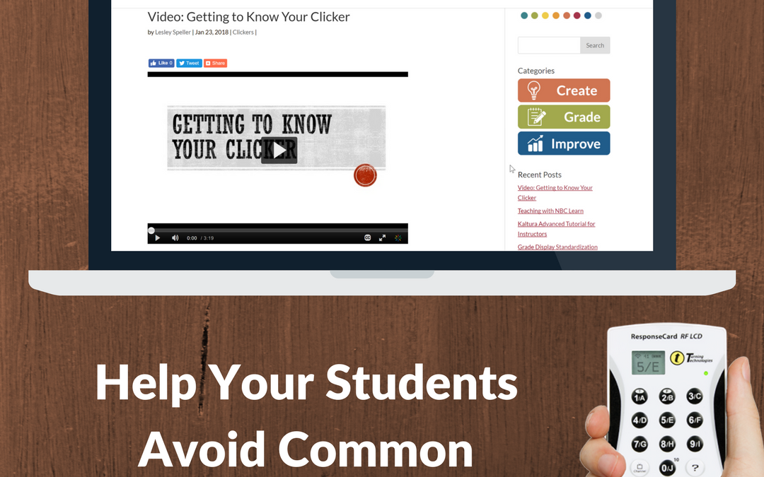 Video: Getting to Know Your Clicker