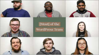 Word Press Student team