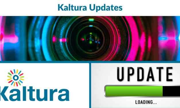 Kaltura: Updates