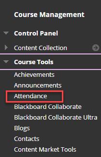 click attendance