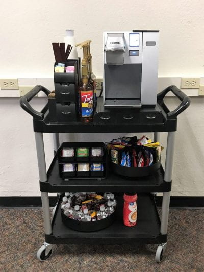 TIPS Center Snack Cart