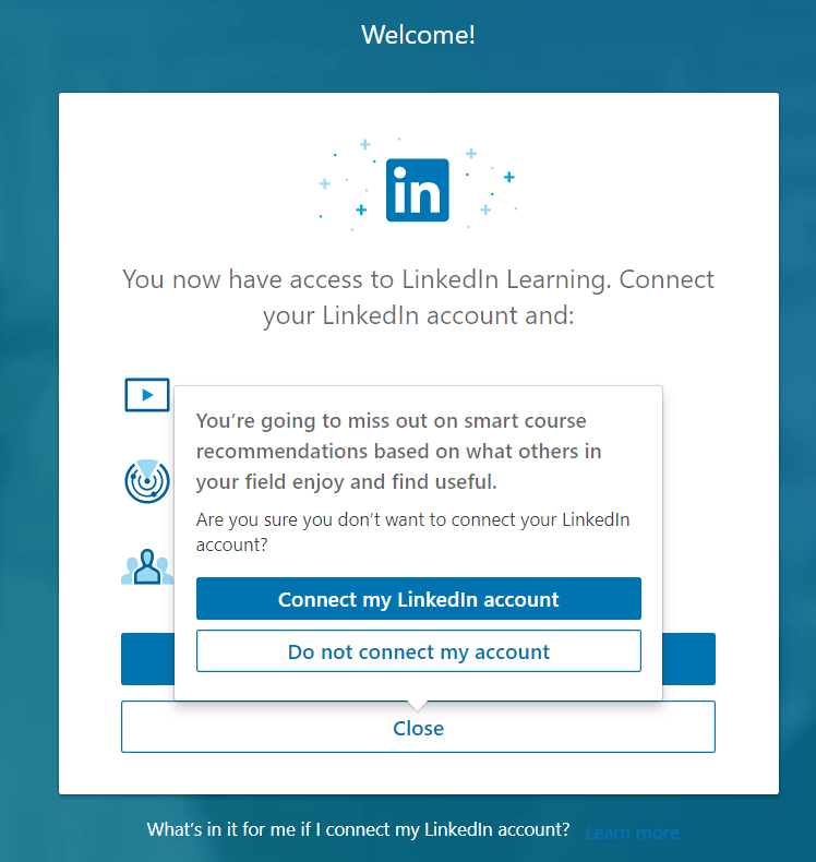 LinkedIn Learning: Linking to a Course or Video in