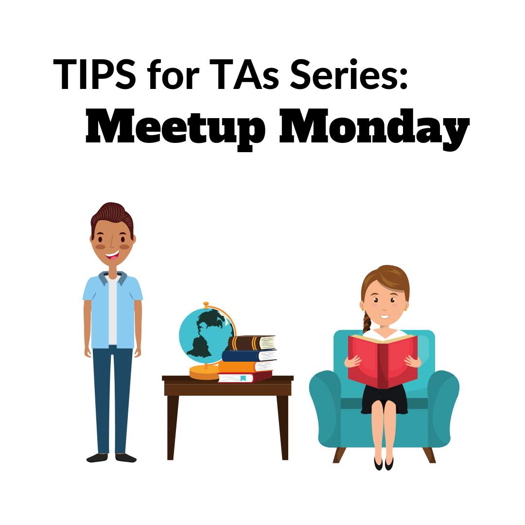 TIPS for TAs - Meetup Monday - Decorative