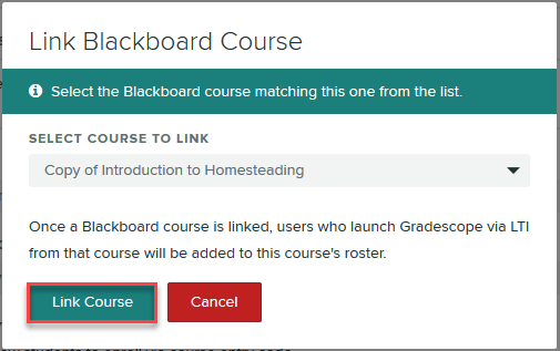Click Link Course