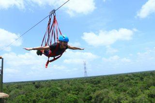 megan ziplining