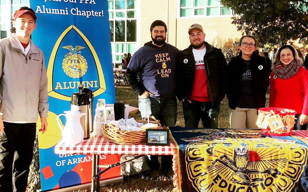 FFA Tailgate: A Cold Day Of Fun, Food, Football & Fellowship With Potential Students