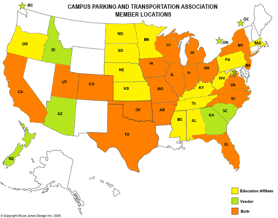 CAMPUS PARKING AND TRANSPORTATION ASSOCIATION | Promoting and