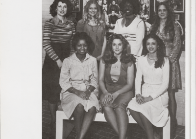 1976 Homecoming Court
