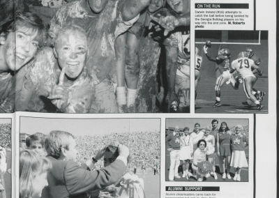 Homecoming Feature from the 1992-1993 Razorback Yearbook