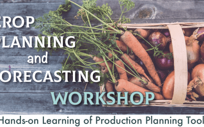 Crop Planning and Forecasting Workshop for Farmers