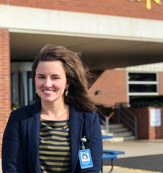 ELIZABETH STAINTON WALKER: ENGLISH M.A. ALUM WORKING IN THE CORPORATE SECTOR