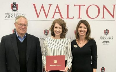 First Recipient Earns Walton College Executive Education Proven Leadership Certificate