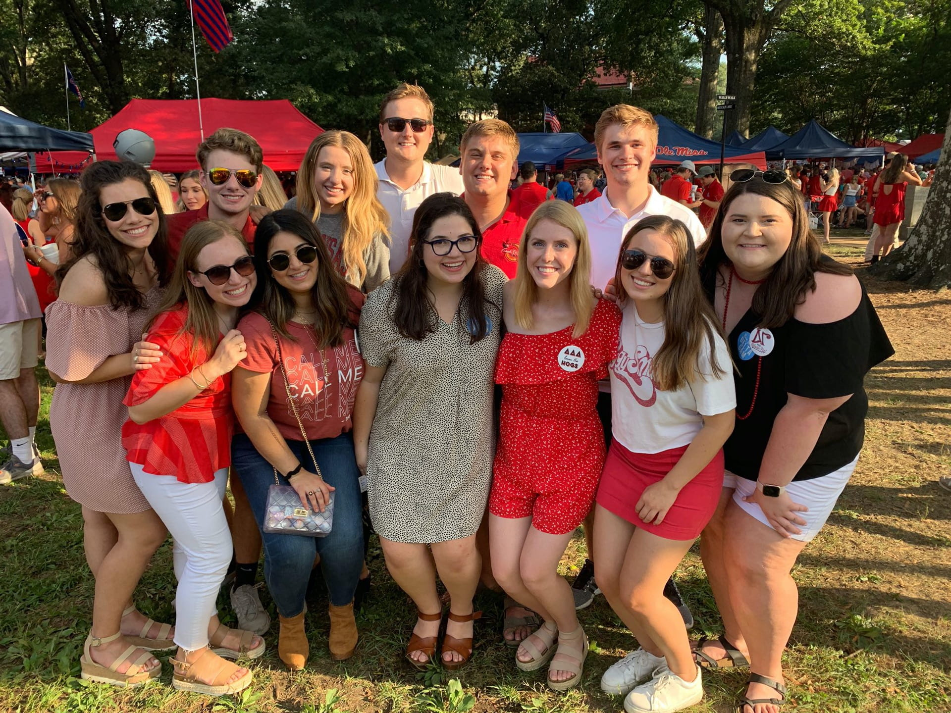 Associated Student Government Agents at Razorback Gameday