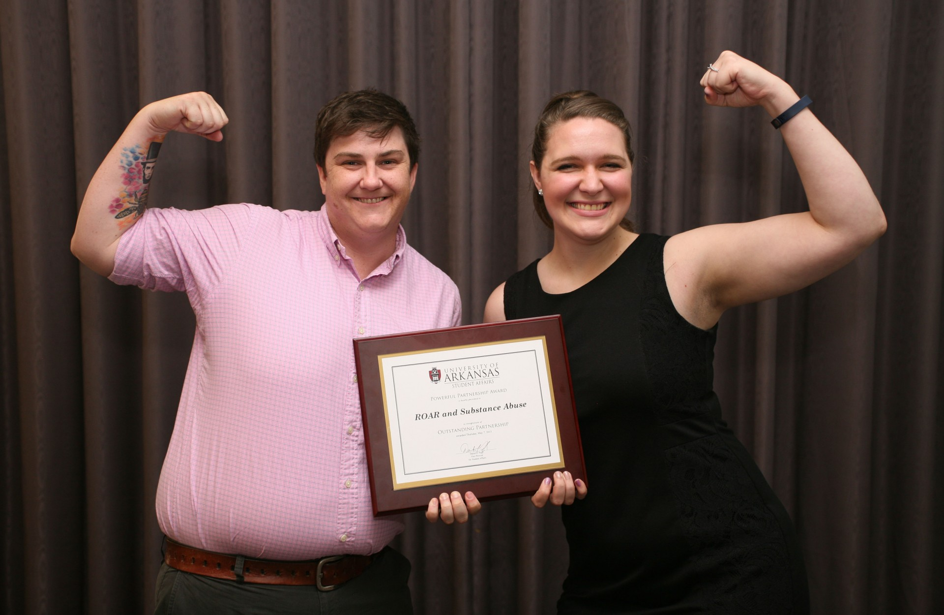 Individuals and departments across the Division of Student Affairs were recognized for outstanding acheivements.