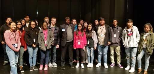 Springdale High School journalism students. 10/2018.