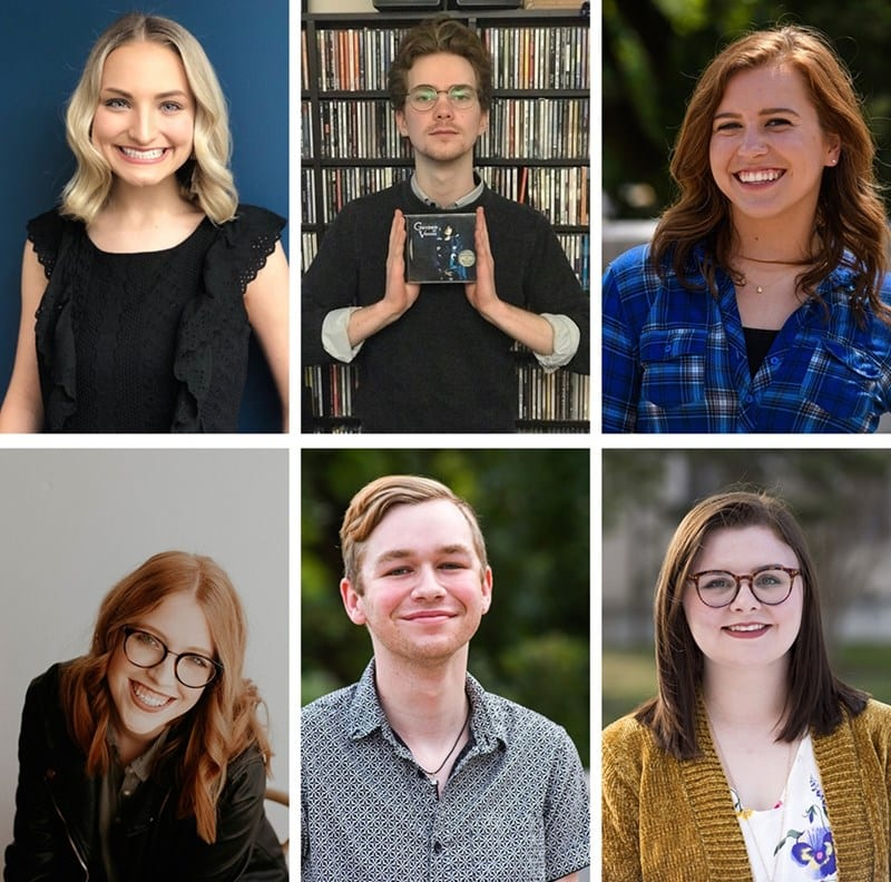 Six Students Chosen to Lead Student Media in 2019-20 School Year