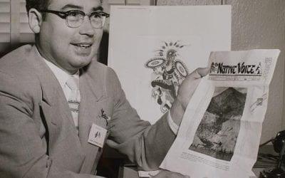 U of A SJSM Graduate Student Bryan Pollard Writes Story Published by Smithsonian's American Indian Magazine