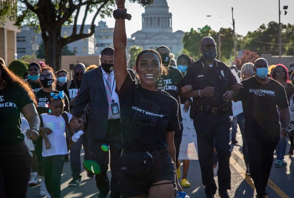 2019 Visiting Professor, Brent Renaud, Reports on Black Lives Matter Movement in Little Rock