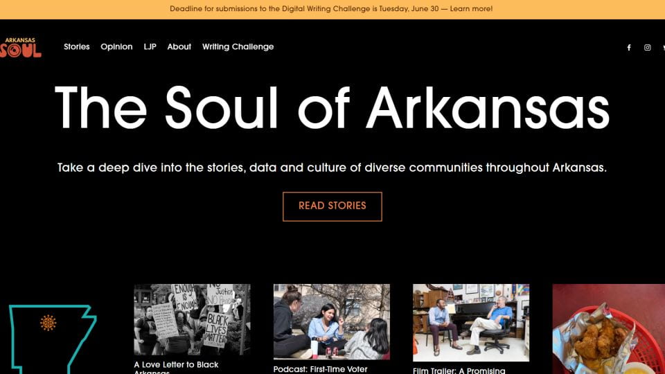 "Journalism Assistant Professor, Niketa Reed, Continues ""Arkansas Soul"" Project"