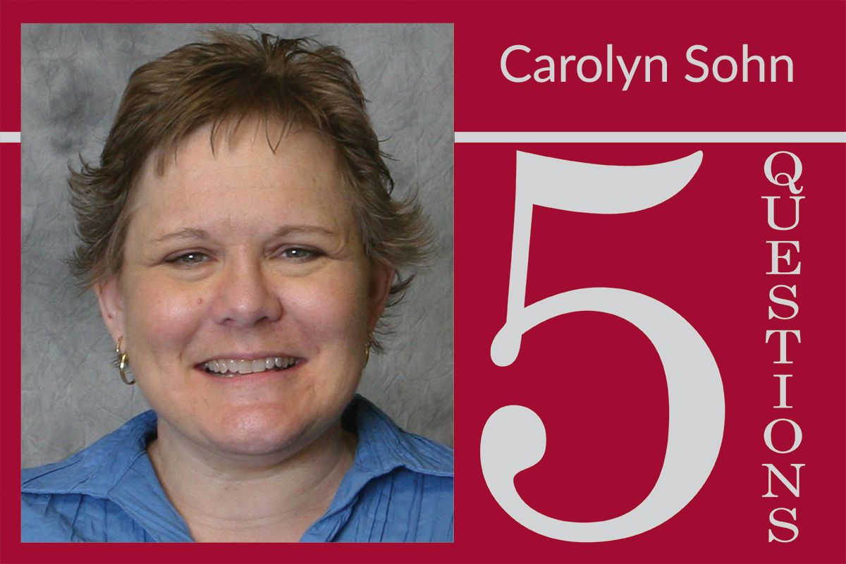 5 Questions With Carolyn Sohn, Administrative Assistant III