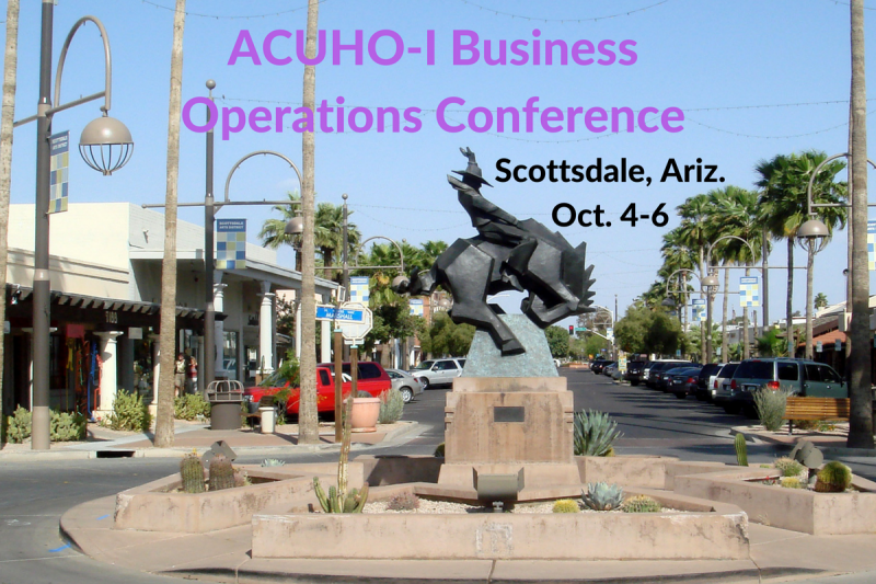 Administrative Services Staff Presents at ACUHO-I Business Operations Conference