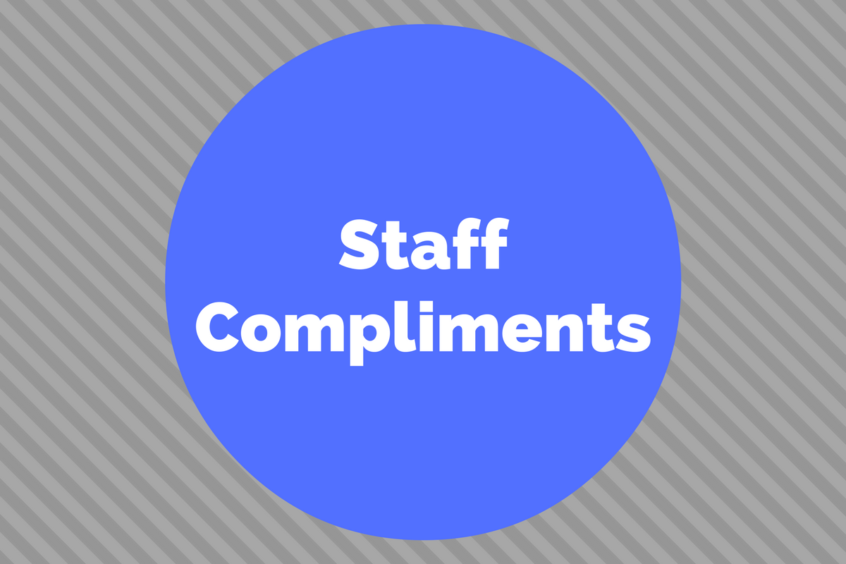 Staff Compliments: Tia King, Trainer Extraordinaire