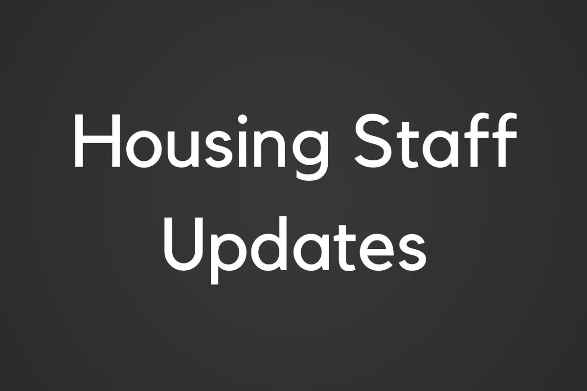 Three Join Housing's MarComm Staff