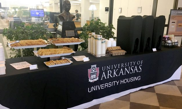 Housing Staff Provide Cookies and Coffee for Finals Study Break
