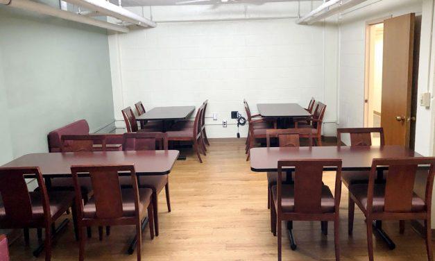 Razorback Stadium furniture finds new life in Gladson-Ripley Hall