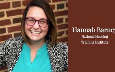 Hannah Barney: National Housing Training Institute Bound