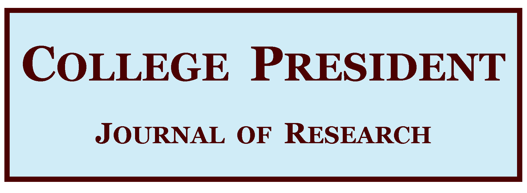Journal of Research on the College President