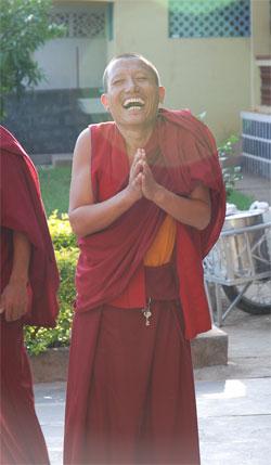 Smiling Tibetan