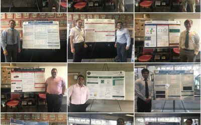 Undergraduate Summer Research Highlighted at Poster Session