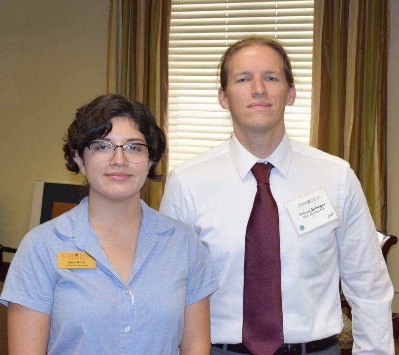 Patrick Grainger and Sara Moya