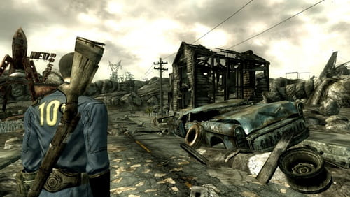 Still image from Fallout 3