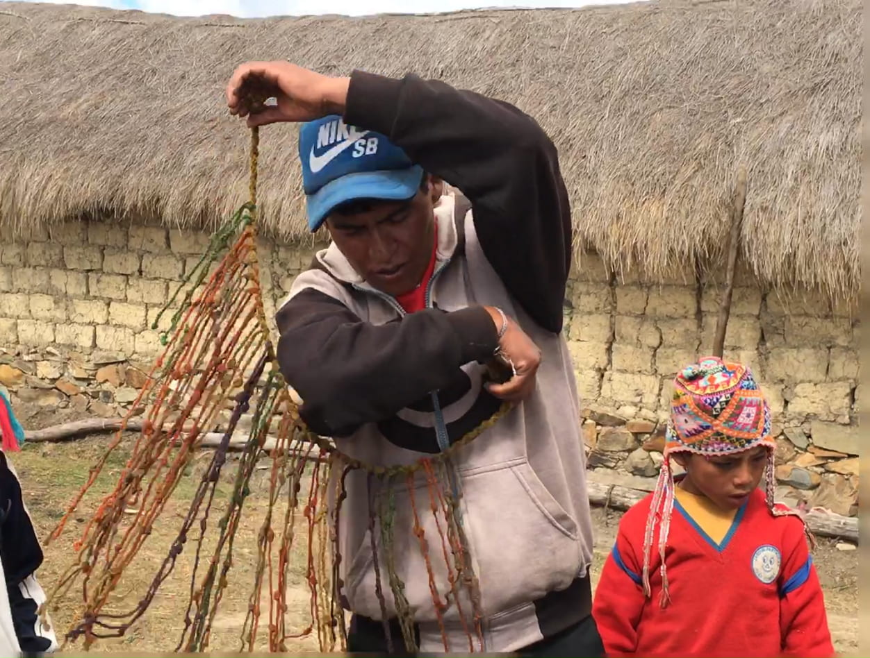 Quipu, The Knot-Language of the Andes