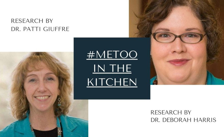 #MeToo in the Kitchen