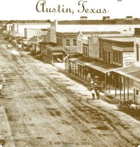 old photo of Austin c. 1876