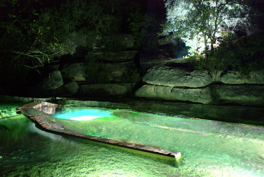 Jacob's well. Photo courtesy of The Meadows Center for Water and the Environment
