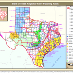 State of Texas Regional Water Planning Areas. Source TWDB