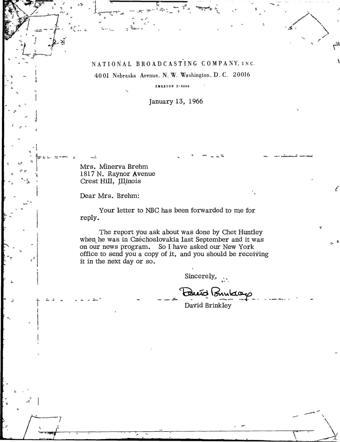 Page 1 NBC News 9.21.1965