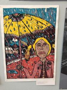 UNHAPPY IN THE RAIN