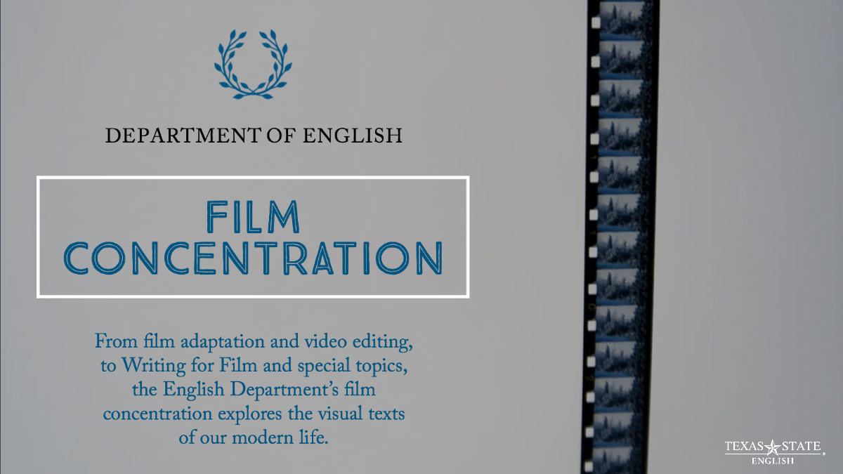 Film Concentration for English Majors Explores Visual Texts