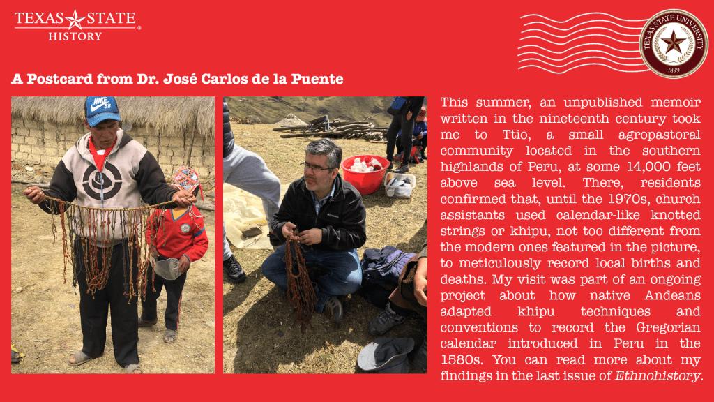 Postcard from JC de la Puente