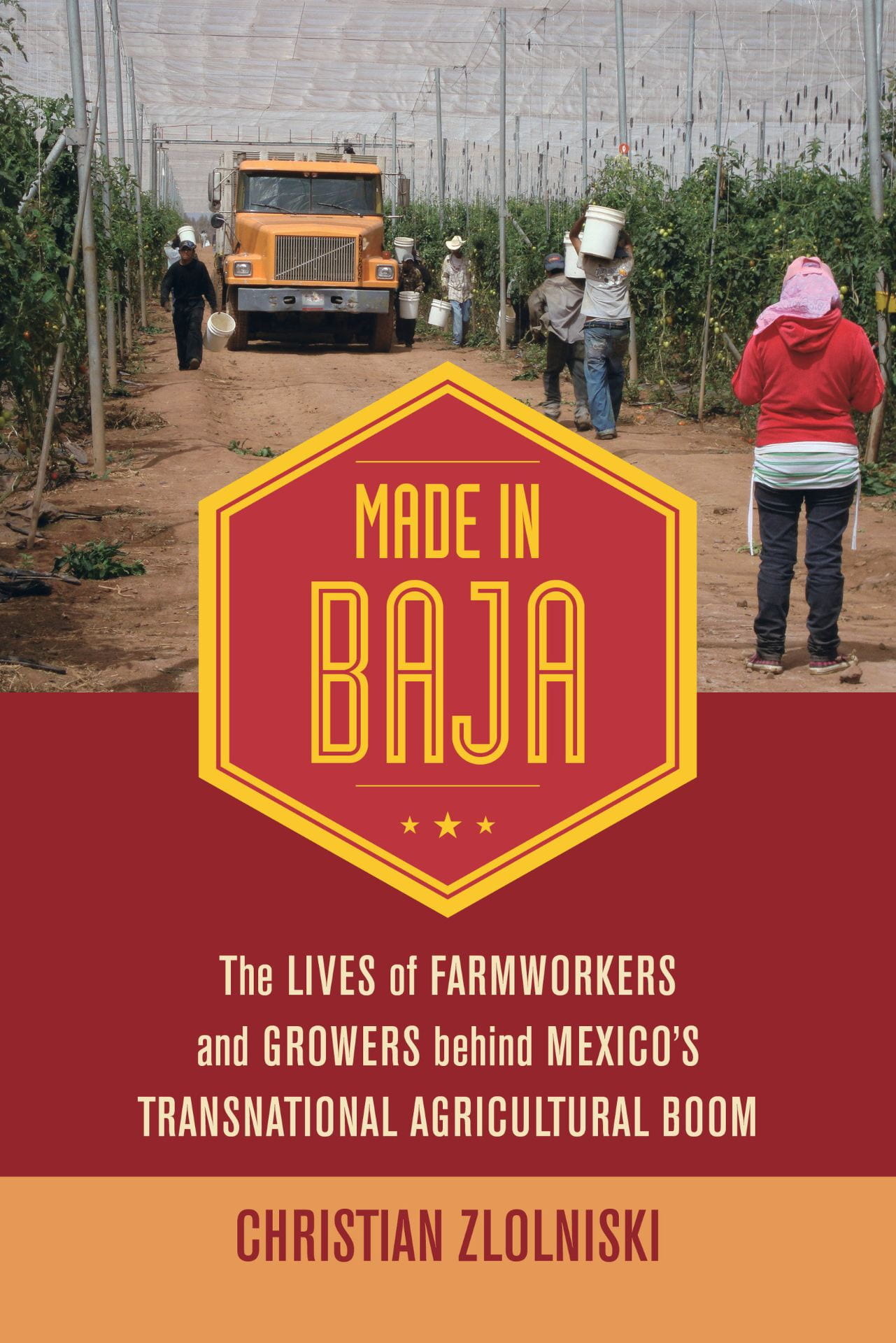 "Book cover for ""Made in Baja"""