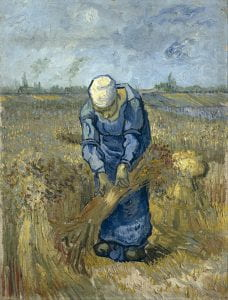 Vincent_van_Gogh_-_Peasant_woman_binding_sheaves_(after_Millet)_-_Google_Art_Project