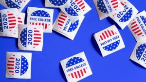 free college stickers