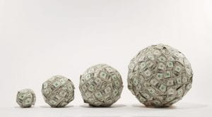 balls of money