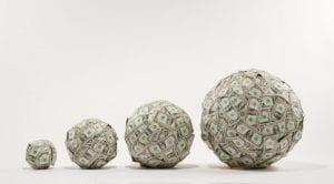 balls of money